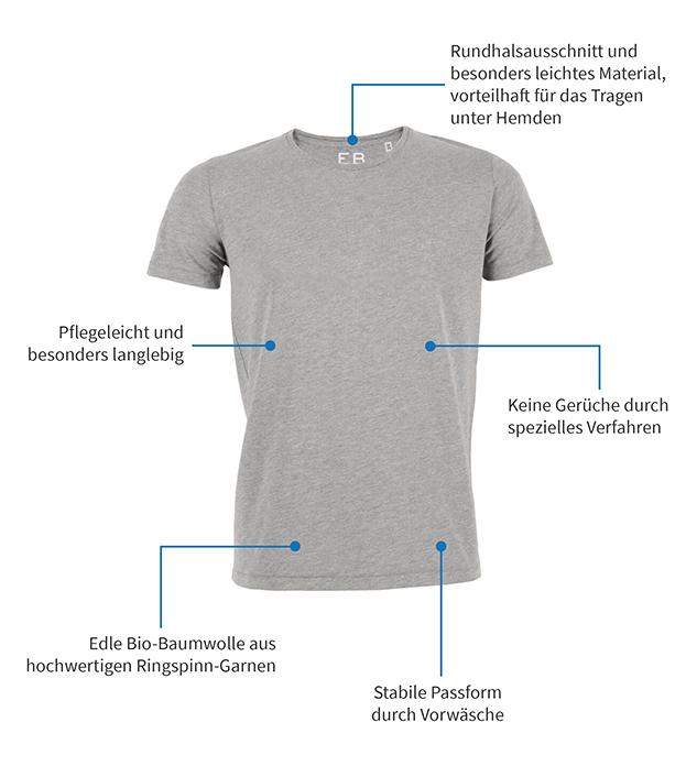 Unterhemd-Grau